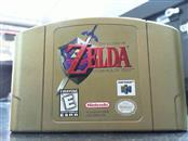 NINTENDO ZELDA OCARINA OF TIME N64 GOLD!